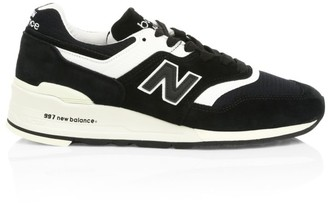 New Balance China SMU Mesh & Suede Sneakers