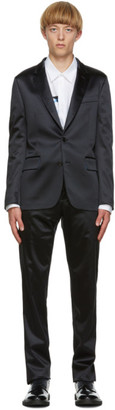 Paul Smith Navy Satin Soho Suit
