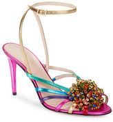 Kate Spade Isabella Sequin Embellished Strappy Sandals