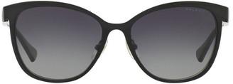 Ralph Lauren RA4118 404378 Polarised Sunglasses Black