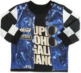 John Galliano Vest Printed Cotton Jersey T-Shirt