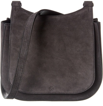 The Row Hunting 9 Suede Shoulder Bag