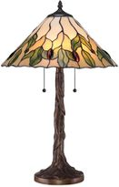 Quoizel Tiffany Campton Table Lamp in Bronze