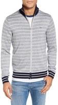 Lacoste Stripe Zip Sweater