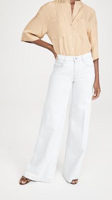 J Brand Evytte Mid Rise Wide Leg Jeans