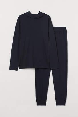 H&M Pajamas with Hooded Shirt