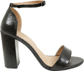 Yours Clothing Black COMFORT INSOLE Block Heel Mary Sandal In E Fit