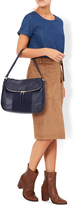 Monsoon Calypso Suede And Leather Shoulder Bag