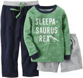 Carter's Long-Sleeve 3-pc. Dinosaur Pajama Set - Baby Boys 12m-24m