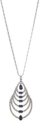 "Carolee 16"" Large Pear Pendant Necklace"