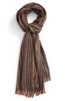 Paul Smith Men's Stripe Lambswool Scarf