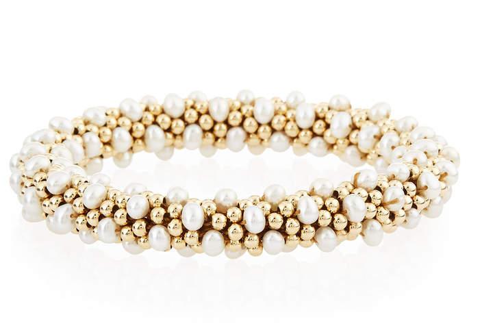 Meredith Frederick Caroline 14K Gold & Pearl Bracelet