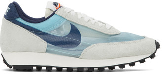 Nike Blue and Grey Daybreak SP Sneakers