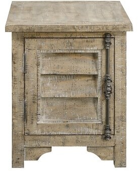 Three Posts Clintwood End Table with Storage