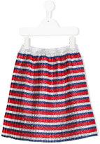 Gucci Kids - striped skirt - kids - Viscose/Metallized Polyester/Silk/Cotton - 4 yrs