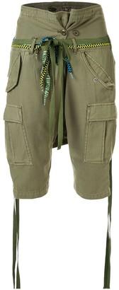 R 13 Slim-Fit Cargo Shorts