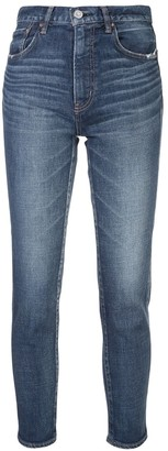 Moussy Cameron high-rise skinny jeans