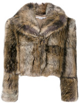 Stella McCartney Fur Free Fur coat - women - Cotton/Modacrylic/Polyester/Viscose - 42