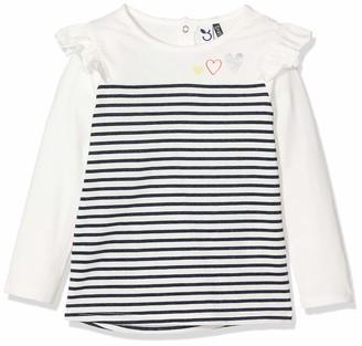 3 Pommes Baby Girls' 3p10072 Ts Mariniere Ml T-Shirt