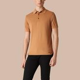 Burberry Silk Cotton Polo Shirt