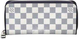 Louis Vuitton Damier Azur Canvas Coastline Zippy Vertical Wallet