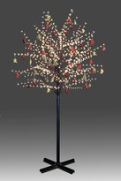 Good Buy Kits Beautiful 250cm 800L twinkle burning LED tree light with golden plum blossoms and hanging ornament set