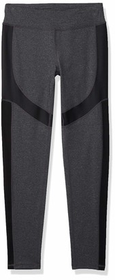 Andrew Marc Women's Long Active Legging with Shine Accents