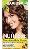 Garnier Nutrisse Nourishing Color Creme, 60 Light Natural Brown (Acorn) (Packaging May Vary)