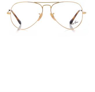 Ray-Ban Aviator-Style Metal Glasses
