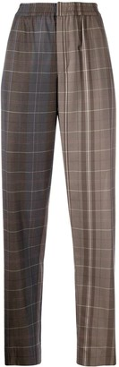Stephan Schneider Check-Pattern Tapered Trousers