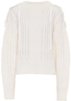 Cecilie Bahnsen Monse merino wool-blend sweater