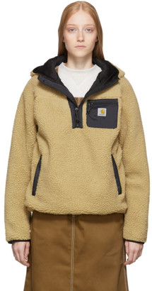 Carhartt Work In Progress Brown Prentis Hooded Pullover
