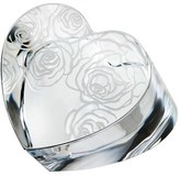 Monique Lhuillier Waterford 'Sunday Rose' Lead Crystal Paperweight - White