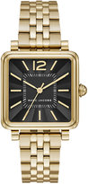 Marc by Marc Jacobs Women's Vic Gold-Tone Stainless Steel Bracelet Watch 30mmx30mm MJ3516