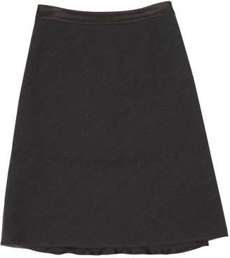 Louis Vuitton \N Anthracite Wool Skirts