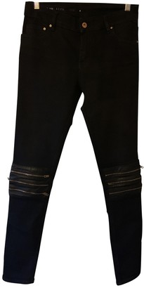 Avelon Black Cotton Jeans for Women