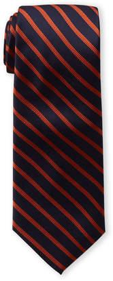 Tommy Hilfiger Orange Exotic Stripe Tie