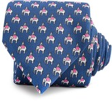 Thomas Pink Elephant and Castle Print Classic Tie