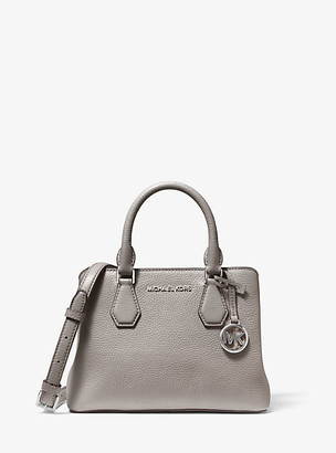 Michael Kors Camille Small Leather Satchel