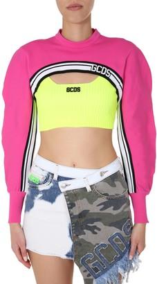 GCDS Cropped Sweater