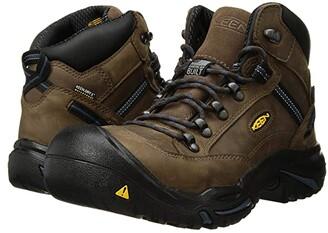 Keen Braddock Mid AL (Bison/Ensign Blue) Men's Work Boots