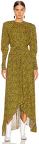 Isabel Marant Jucienne Dress in Fauve | FWRD