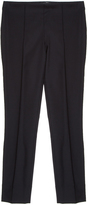 The Row Skinny Wool Trousers