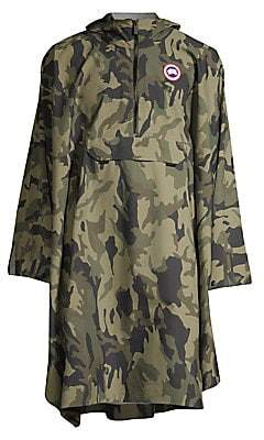 Canada Goose Men's Field Camouflage Poncho