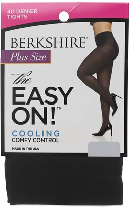 Berkshire Women's Easy On 40 Denier Plus Size Tights