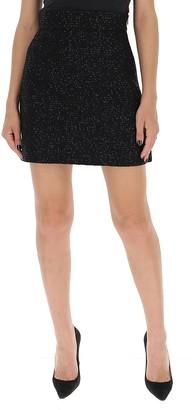Miu Miu Tweed Mini Skirt