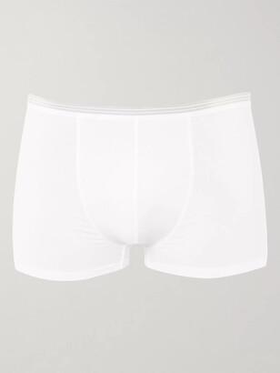 Zimmerli Pure Comfort Stretch-Cotton Boxer Briefs