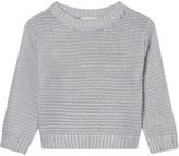 Stella McCartney Metallic chunky knit jumper 4-14 years