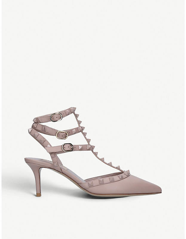 Valentino Rockstud 65 leather courts