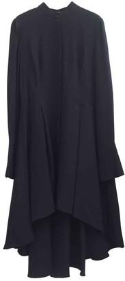 Alexander McQueen Navy Silk Top for Women